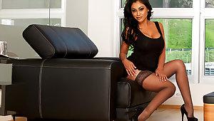 Priya Anjali Rai & Marco Rivera in My Retinue Hot Mom