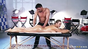 She must suck his weasel words after wonderful erotic massage