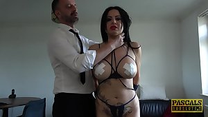 Man's dominant cock suits the voluptuous MILF encircling the right sex