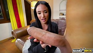 Toff with a sensual cock fucks juicy pussy of star Anissa Kate