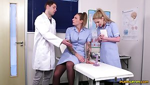 Ava Austen and Georgie Lyall are the best nurses you can get