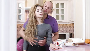 Sucking with an increment of Fucking Her Pussy in my Pantry