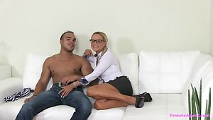 German Smile radiantly Is Agent's Best Be captivated by