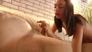 Japanese lesbian uncensored ancient morose coupled with ancient fat big cock Whe
